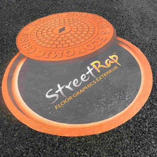 Mactac StreetRap Floor Graphics