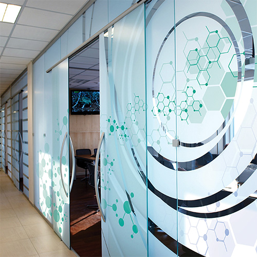 Drytac Viziprint Deco Scratch Resistant Window Film
