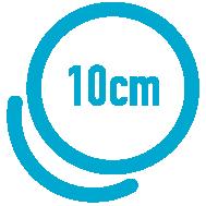 10 x 10 cm