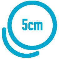 5 x 5 cm